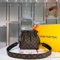 LV Women Leather Shoulder Bag Satchel Tote Bag Handbag Shopping Leather Tote Crossbody Satchel created created