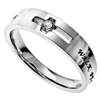 Walk By Faith - Solitaire Ring | All Items | Rings | Jewelry | Mardel