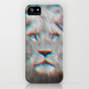 LION iPhone & iPod Case by Monika Strigel