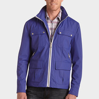 MARC NEW YORK ROYAL BLUE WINDBREAKER MODERN FIT JACKET