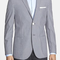 Men's Corneliani Classic Fit Wool & Flax Blazer,