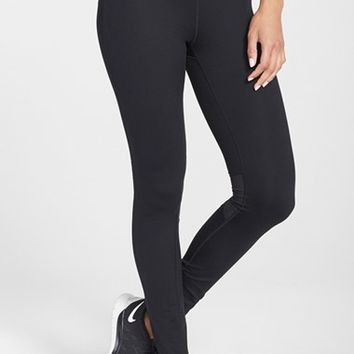 Women's Nike 'Epic Run' Mesh Insert Dri-FIT Tights,