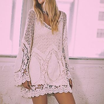 Free People Womens Nikki Amore Dress