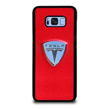 TESLA MOTOR LOGO Samsung Galaxy S8 Plus Case Cover