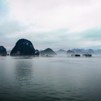 Ha Long Bay Art Print by Michelle McConnell