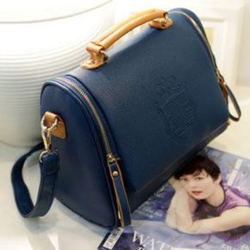 Women cross body bag Barrel-shaped
