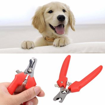 Nail Clippers -  Dog/Cat Grooming Trimmer