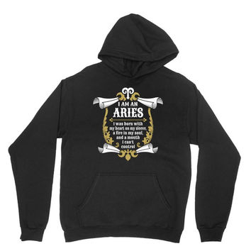 I Am An Aries Youth Hoodie