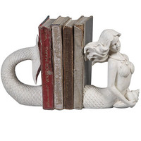 Victorian Mermaid Bookends - PLASTICLAND