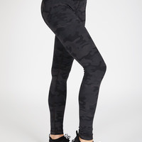 Long Legging - Dark Camo