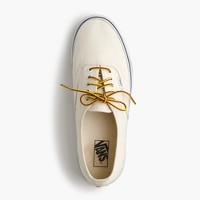Vans® for J.Crew canvas authentic sneakers