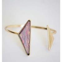 Hologram Stone Arrow Cuff