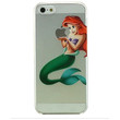 Little Mermaid Ariel Holding Logo Clear Transparent Case For Apple Iphone 5/5s