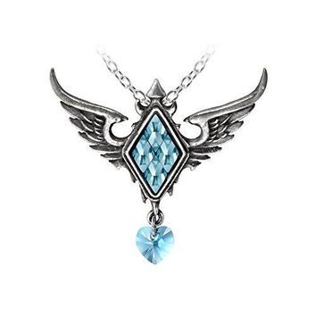 Frozen Heart Pendant by Alchemy Gothic