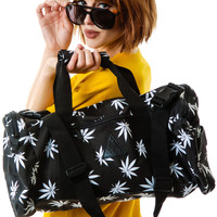 Huf Plantlife Duffle Bag Black One