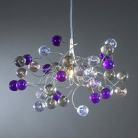 Ceiling lamp, Midnight color bubbles