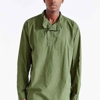 Urban Renewal Vintage Swedish Pullover Top- Green