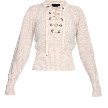 Charley lace-up wool-blend sweater | Isabel Marant | MATCHESFASHION.COM US