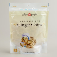 Ginger People Baker's Cut Crystallized Ginger Chips - World Market