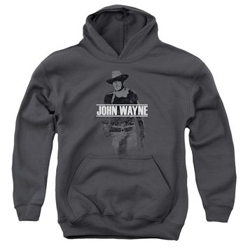 John Wayne - Fade Off Youth Pull Over Hoodie