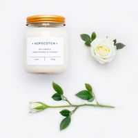 Hopscotch Soy Candles • Rose • hand poured in London