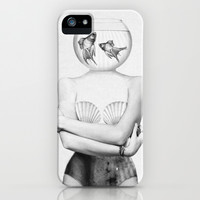 Pisces  iPhone & iPod Case by Jenny Liz Rome