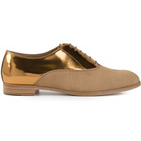 Sergio Rossi two-tone lace-up shoes