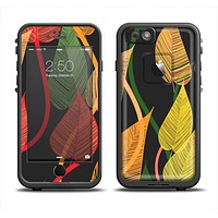 The Colorful Pencil Vines Skin Set for the Apple iPhone 6 LifeProof Fre Case