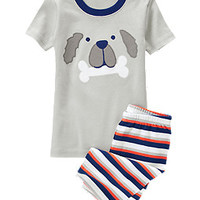 Puppy Face Shortie Two-Piece Gymmies®