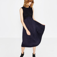 PLEATED DRESS - NEW IN-WOMAN | ZARA United Kingdom