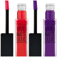 MAYBELLINE Color Sensational Vivid Matte Liquid Lip Color DUO SET of 2