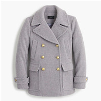 STADIUM-CLOTH MAJESTY PEACOAT