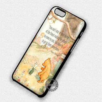 Winnie The Pooh's Quote - iPhone 7 6 6s 5c 5s SE Cases & Covers