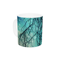 "Sylvia Cook ""Winter Moon"" Ceramic Coffee Mug"