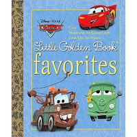 Disney Pixar Cars Little Golden Book Favorites