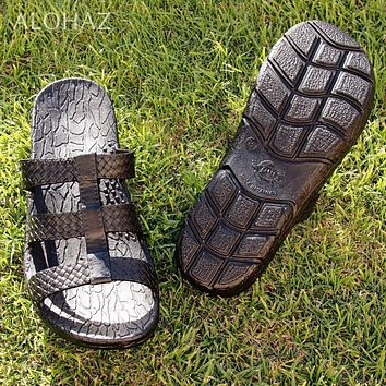 black jaya jandals® - pali hawaii sandals