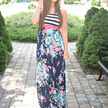 From This Moment Maxi Dress