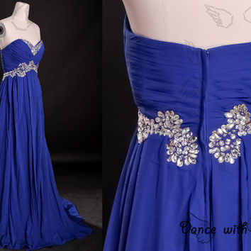 Blue beading prom dresses,prom dress,long prom dress,bridesmaid dresses,evening dresses,bridesmaid dress,evening dress