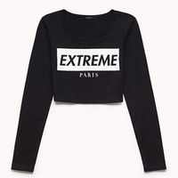 Extreme Paris Crop Top