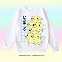 pikachu aesthetic tumblr kawaii from Kokopie