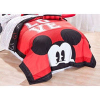 Love Mickey Mouse Full-Queen Quilt Set Love Disney Bedding