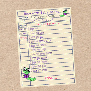Baby Shower Game & Activity Wishes for Baby by DecorableDesigns