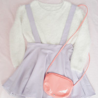 Pastel Candy Suspender Skirts