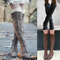 On Sale Hot Deal Shoes Winter Stylish Hot Sale Rivet Boots [120847794201]