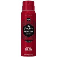 Old Spice Re-Fresh Body Spray, Swagger 3.75 oz (Pack of 6)