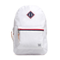 Studio Collection Ruskin Backpack White Poly Coat