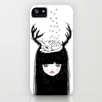 Bambi & moi iPhone & iPod Case by Maiko Nagao