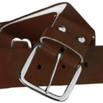 DCCKSW1 Twin City Adjustable Elastic Baseball Belts - Brown