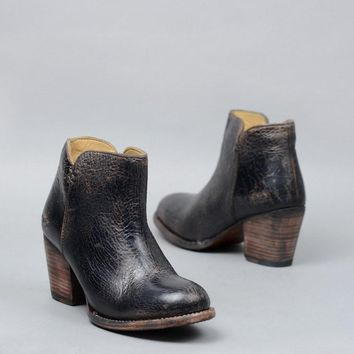 BED|STU Yell Black Lux Bootie