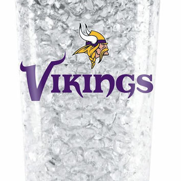Minnesota Vikings Crystal Freezer Tumbler